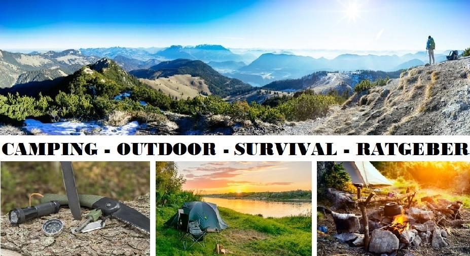 Camping – Outdoor – Survival